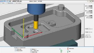 Entrenamiento CNC, Simulación de Fresado